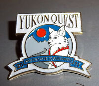 2011 Yukon Quest lapel Pin Dog Sled Race Whitehorse yukon to Fairbanks Alaska