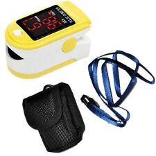 Contec Fingertip Pulse Oximeter - Yellow