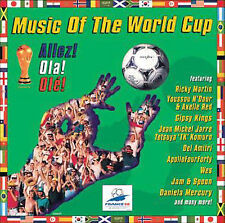 Music World Cup 1998 CD Columbia Ricky Martin Gipsy Kings Jam & Spoon Wes MATCH
