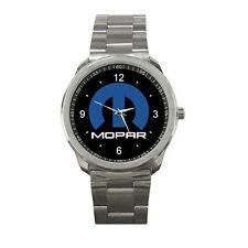 Mopar Logo Chrysler Dodge Jeep Sport Metal Watch