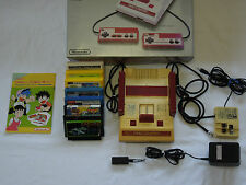 Nintendo Vintage Famicom Family Computer FC Console System With software of 7