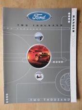 Ford Ranger Orig 2000 canadiense Mkt folleto de ventas-XL, XLT