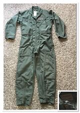 Vintage Vietnam War USN Military Army Coveralls Uniform Green Color Made In USA.