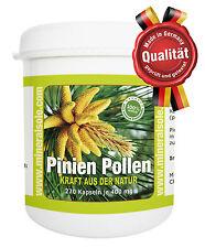 Pinien Pine Pollen Wildsamml. 270 veg.Kapseln je 300mg Pollen Quecksilber-FREI
