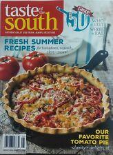 Taste of the South Jul Aug 2017 Fresh Summer Recipes Tomato Pie FREE SHIPPING sb