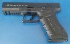 ZORAKI 917 TD Black Front Fire Pistol Replica Hand Gun Training Prop 9mm PAK
