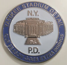 NYPD Yankee Stadium Detail New York City Police Department Challenge Coin