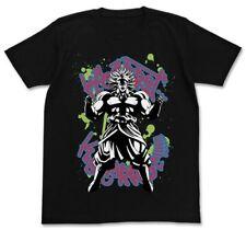 Dragon Ball Z Broly Character Black Cotton T-shirt Tee Size L Anime Art Cospa