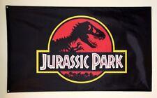 JURASSIC PARK FLAG 3x5FT 90x150CM