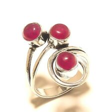 New Ring Silver Plated Ruby Gemstone Handmade Fashion jewelry Best Price