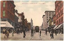 Main Street Looking North in Butte MT Postcard