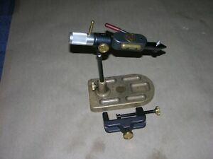 REGAL Revolution Fly Tying Vice with Traditional Head & Bronze Pocket Base #487
