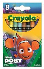 Disney Finding Dory Nemo 8 Regular Crayons from Crayola 52-4395