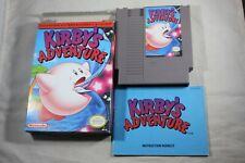 Kirby's Adventure (Nintendo NES) Complete in Box GREAT