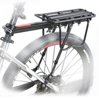 ALUMINUM ALLOY BIKE REAR RACK SEAT LUGGAGE CARRIER BICYCLE POST PANNIER NEW+