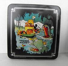 RARE Mickey Mouse metal tin box Demons and Merveilles MINT France 2000