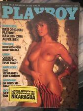 Playboy 9/83 September 1983 Dolly Dollar & Peggy Berlati Geburtstagsgeschenk