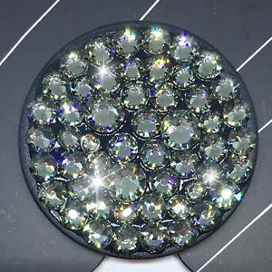 Bling Authentic Black PopSocket w/ Black Diamond Swarovski Crystals PopSockets