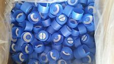 Lot 50, 3 & 5 Gallon Water Bottle Snap Cap Anti Splash 55mm Kleen Peel Off Top