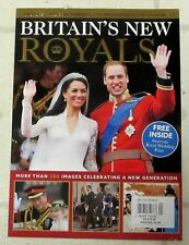BRITAIN'S NEW ROYALS More Than 300 Images 130 Pages FREE INSIDE WEDDING PRINT