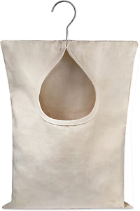 "Handy Laundry Clothespin Bag - 11"" x 15"" - Holds 100 Medium-Sized Clothes Pins,"