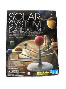 Solar System Planetarium DIY Glow In Dark Astronomy Planet Model Stem Toys Gift