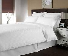 800 TC Egyptian Cotton Stripe King Size Duvet cover set select color
