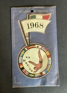 1967 Mexico Olympics Diving Sticker