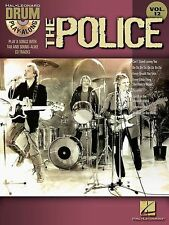 Drum Play-Along Vol.12 - The Police TAB Book & CD *NEW* Sheet Music, Copeland