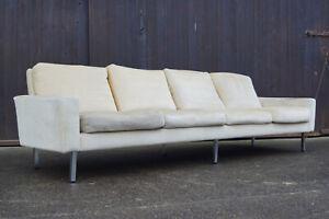 60er Florence Knoll International Sofa 25 BC 4er Couch Mid-Century Modern 70er