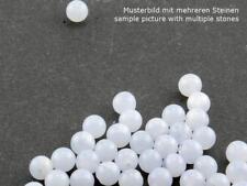 5x Chalcedon - Kugeln 4 mm pastell flieder /5782s