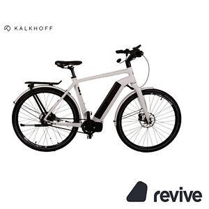 Kalkhoff Integrale 8 2016 E-Trekking-Bike White Limited Edition RH55 Bicycle