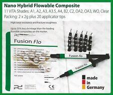 VITA A3.5 Light Curing Flowable Fine Hybrid Nano Dental Composite 2 x 2g