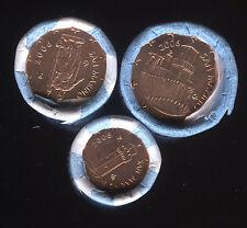 SAN MARIN 2006  1 série de 3 pièces 1,2 et 5 cent d'euro de rlx BU SOUS CAPSULES