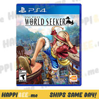 PlayStation 4 • ONE PIECE: WORLD SEEKER🍯SONY PS4 Video Game Console System[NEW]