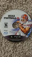 NCAA Football 11 (Sony PlayStation 3, 2010) Disc Only Untested FREE SHIPPING
