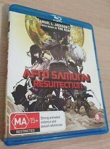 Afro Samurai Resurection Blu Ray All Regions A + B + C
