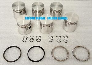 """SEALED POWER Chrysler/Dodge/Plymouth 218ci 230ci Pistons + rings 1933-60 .040"""""""