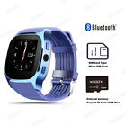 Bluetooth Smart Wrist Watch GSM SIM Phone Mate For Android Samsung IOS iPhone