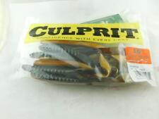 """packs culprit 7/"""" fat max pumpkin seed 10 ct max 32 plastic baits 2"""