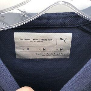 Puma Porsche Design Crewneck Sweatshirt 598215-02 New Men's Sz Medium Navy $150