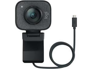 Logitech StreamCam Full HD 1080p 60 fps Smart Auto-Focus Graphite Premium Webcam