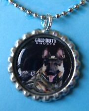 Call of Duty Ghosts Silver Bottle Cap Necklace 01