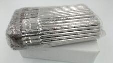 "3/16"" Diameter Tin Handle Acid Brush - 100 Brushes"