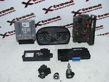 BMW 3 SERIES E90 318i 2005-2011 2.0 PETROL LOCKSET ECU KIT 7565300 / 7568668