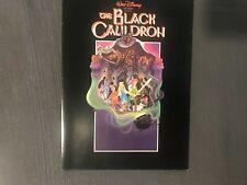 Walt Disney's The Black Cauldron Animated Original Card Poster Advertisement