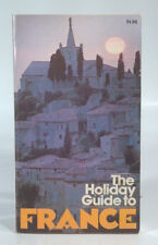 Vintage 1973 The Holiday Guide To France History Culture Art City Paris Map