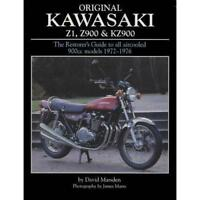 THE ORIGINAL KAWASAKI Z1 RESTORERS GUIDE BY DAVID MARSDEN  ** NEW SIGNED COPY**