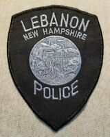 NH Lebanon New Hampshire Police Patch