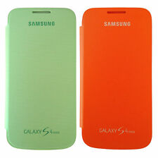Samsung Case EF-FI919BXEGWW Flip Cover, Galaxy S4 Mini, 2-er Set, orange / grün